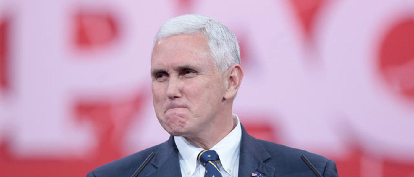 Republican Gov. Mike Pence of Indiana