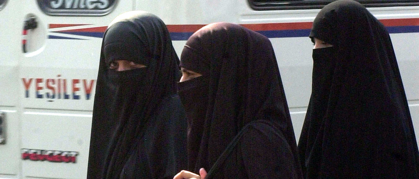 Muslim niqab