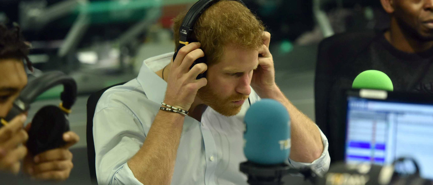 Prince Harry. Jeff Overs/BBC/Handout via REUTERS