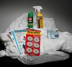 An anti Zika virus kit. REUTERS/Carlo Allegri/Illustration