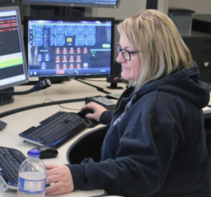 A 911 dispatcher