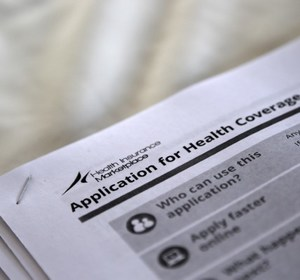 Federal health care forms. REUTERS/Jonathan Bachman