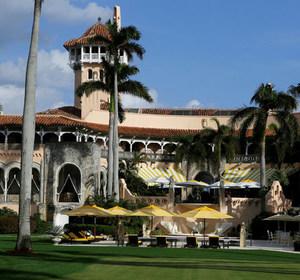 The Mar-a-Lago estate in Palm Beach, Florida. REUTERS/Joe Skipper