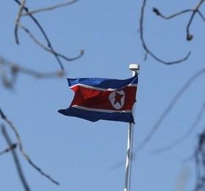 The North Korean flag. REUTERS/Kim Kyung-Hoon.