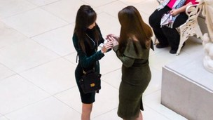 Jessica Rodriguez proposes to her girlfriend