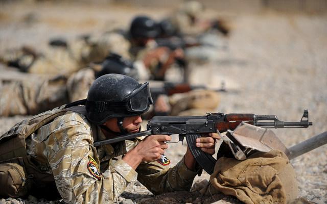 US, Iraqi forces train