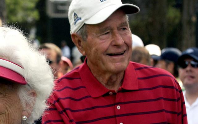 Ex-President George H.W. Bush.
