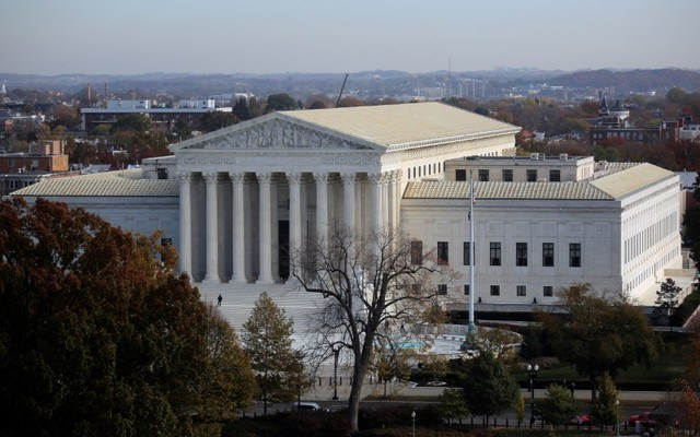 A view of the U.S. Supreme Court. REUTERS/Carlos Barria