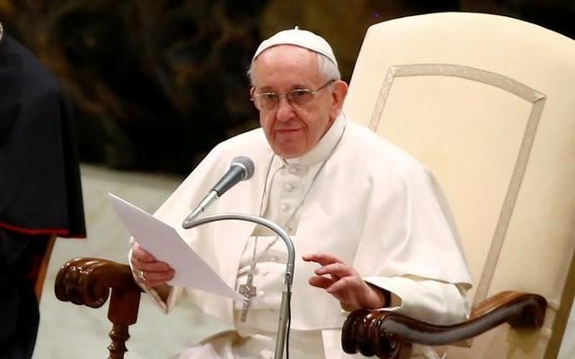Pope Francis in Vatican City. REUTERS/Tony Gentile