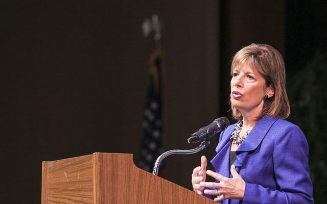 Congresswoman Jackie Speier at Skyline College Theater