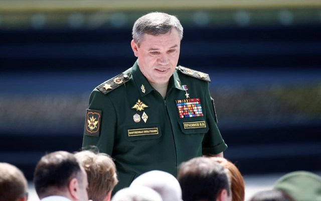 Chief of the General Staff of Russian Armed Forces Valery Gerasimov. REUTERS/Maxim Shemetov