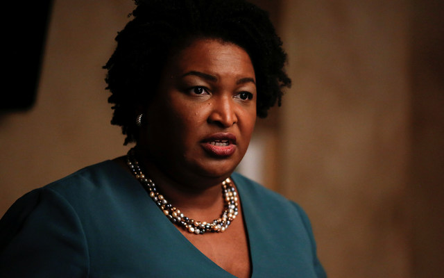 Stacey Abrams. REUTERS/Chris Aluka Berry