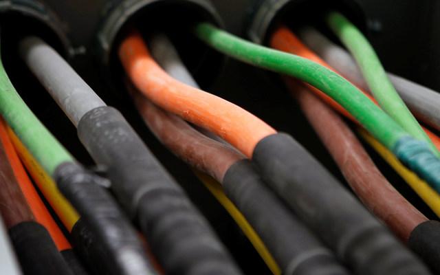 Fiber-optic cables. REUTERS/Mike Segar