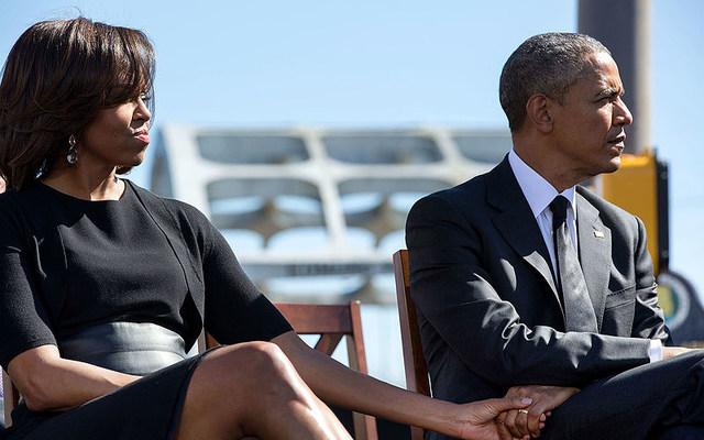 Former First Lady Michelle Obama and Former President Barack Obama