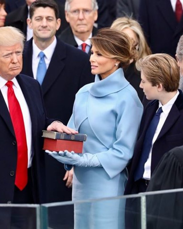 President Donald Trump's Inauguration