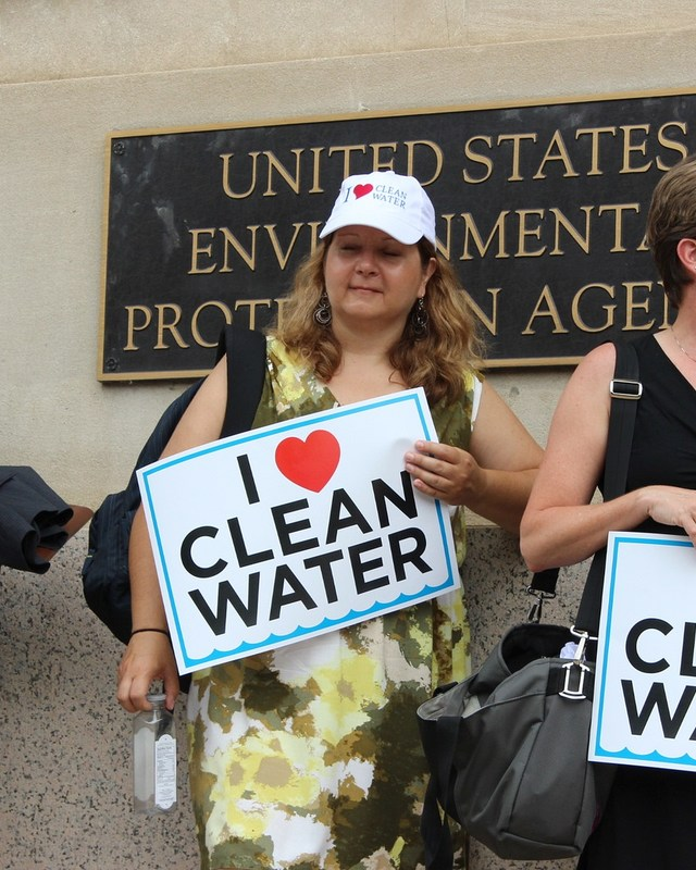 Protests by environmental activists