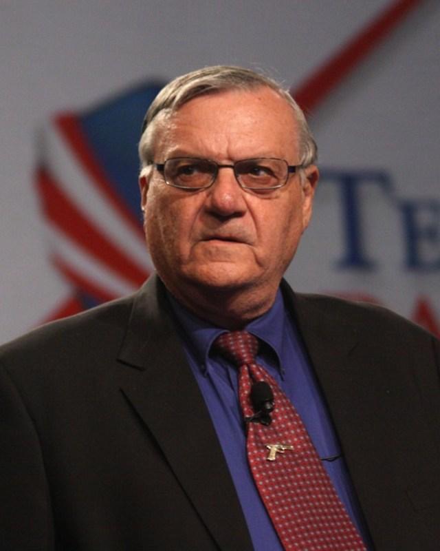Former  Maricopa County Sheriff Joe Arpaio