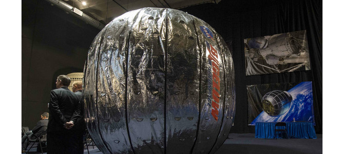 Expandable space habitat fails to inflate in nasa test for Space station fabric