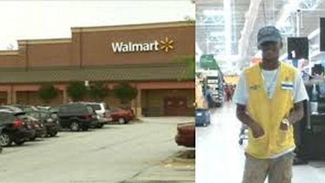 Teen Walmart worker