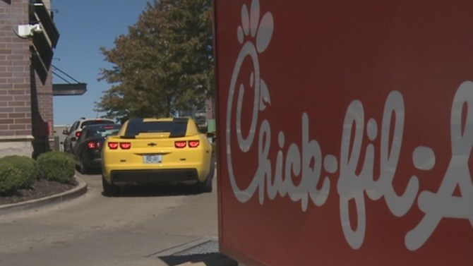 St. Louis County police ordered food from Chick-fil-A for family and friends of slain officer