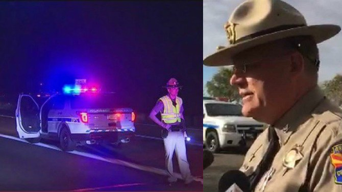 Ariz. State Trooper Saved by Good Samaritan After Being Shot, Suspect Dead