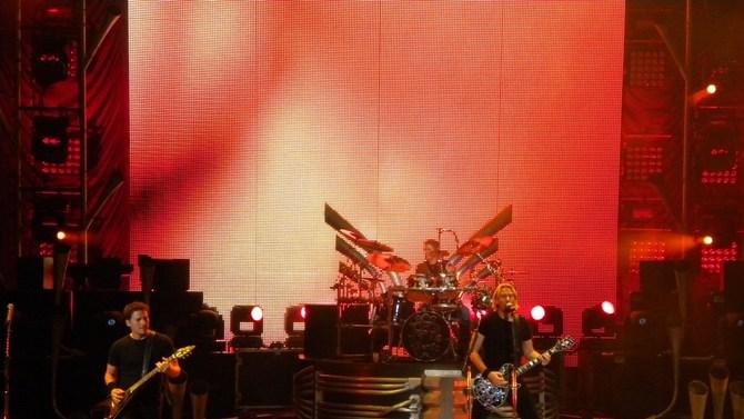 Nickelback in performance