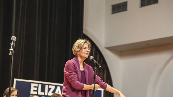 Group plans to 'make life difficult' for Elizabeth Warren