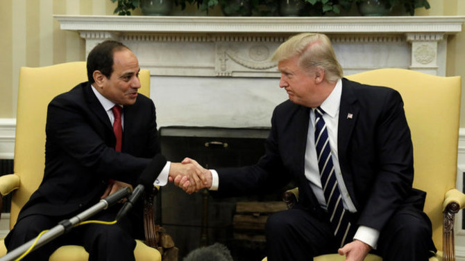 Trump Reverses US Policy Toward Egypt, Welcomes Sissi