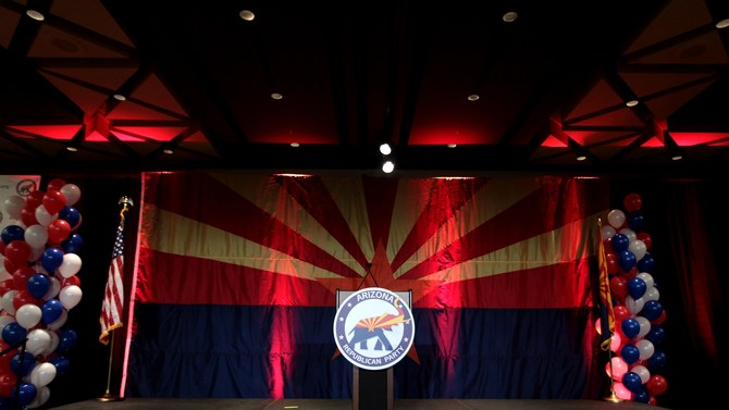 GOP victory party