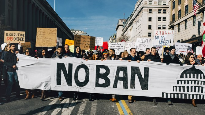 Travel ban challengers urge Supreme Court to reject Trump appeal