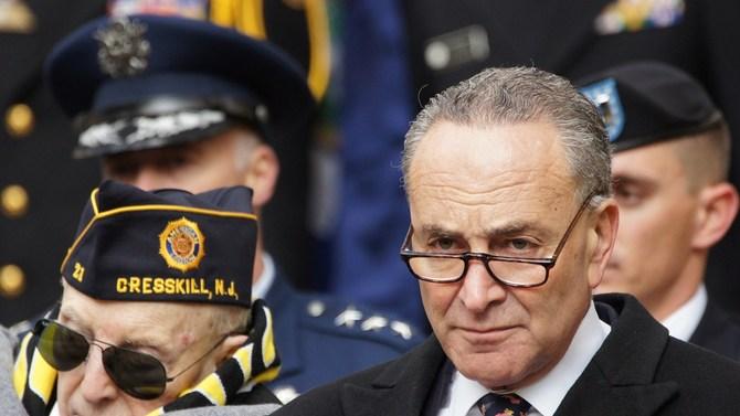 Senate Minority Leader Sen. Chuck Schumer of New York