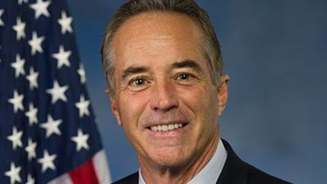 Republican Rep. Chris Collins of New York
