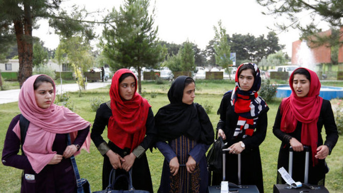 Afghan girls granted U.S. visas for robotics competition after twice being denied