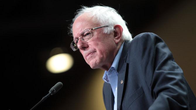 Independent Sen. Bernie Sanders of Vermont