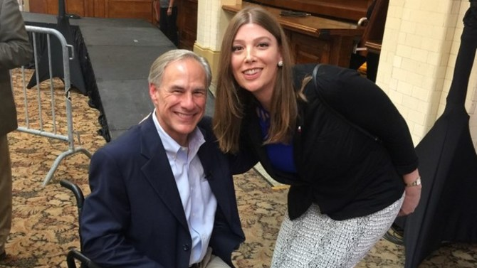 Transgender 'bathroom buddy' photo with Texas governor stirs tempest