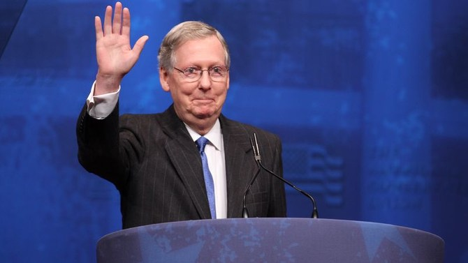 Senate Majority Leader Sen. Mitch McConnell of Kentucky