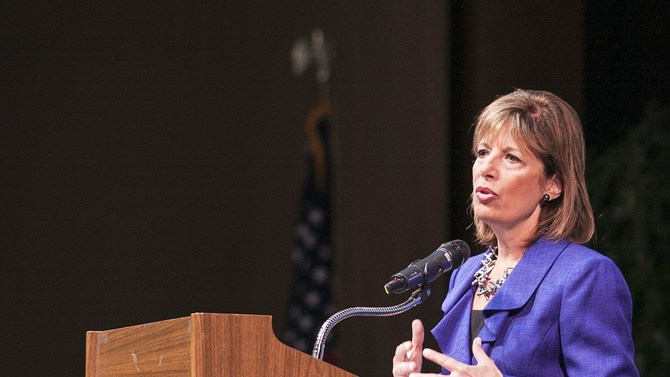 Congresswoman Jackie Speier at Skyline College Theater