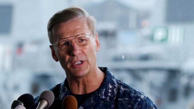 Fleet commander to be relieved of duty following collisions