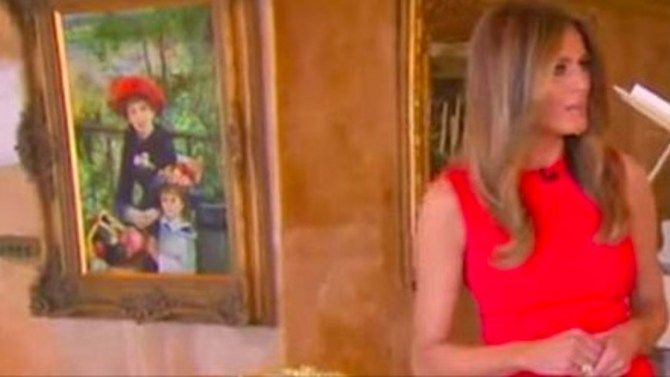 Trump's Renoir painting is not real, Chicago museum says