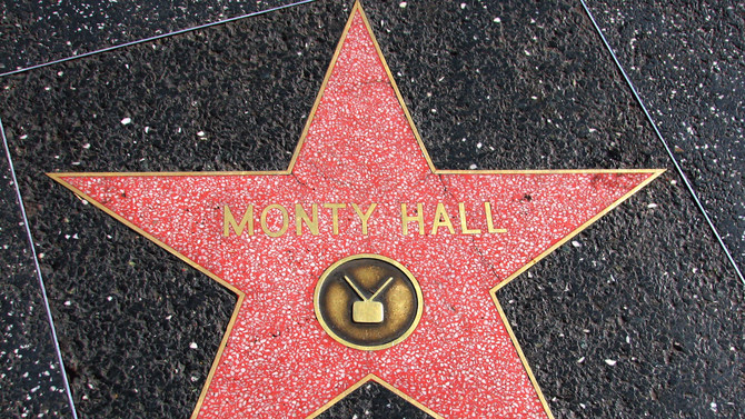 Monty Hall's Hollywood Walk of Fame Star