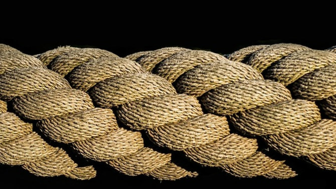 Closup of rope