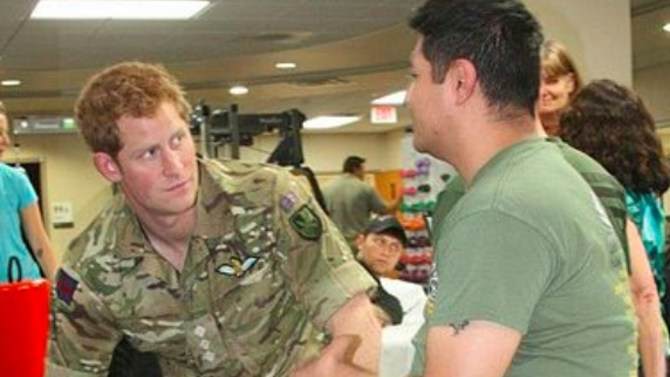 Prince Harry has been accused of breaking military rules