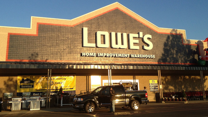 a lowe's store