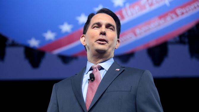 Republican Wisconsin Gov. Scott Walker