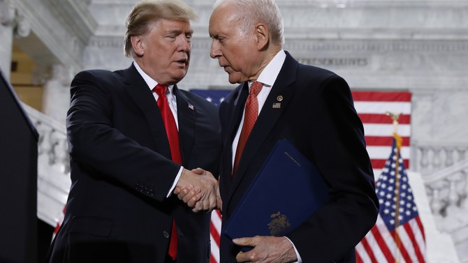 Trump Urging Hatch to Run Again