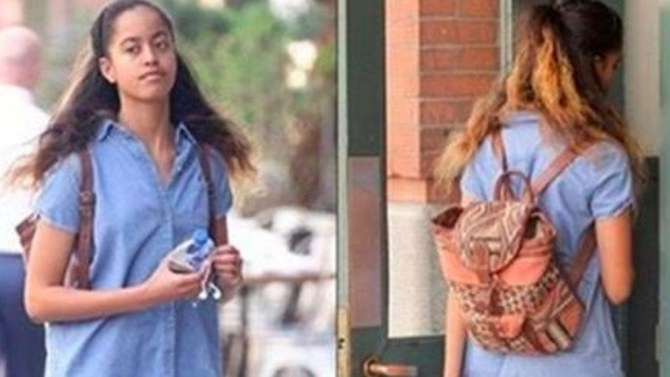 Americans Outraged After Seeing What Malia Obama Wore To Work (Photos)