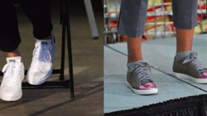 Melania S Shoes That Are Being Criticized